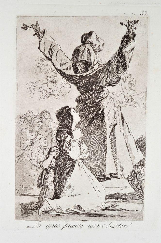 Francisco Goya Caprichos Nr 52 Original 3. Ausgabe 1868 ...