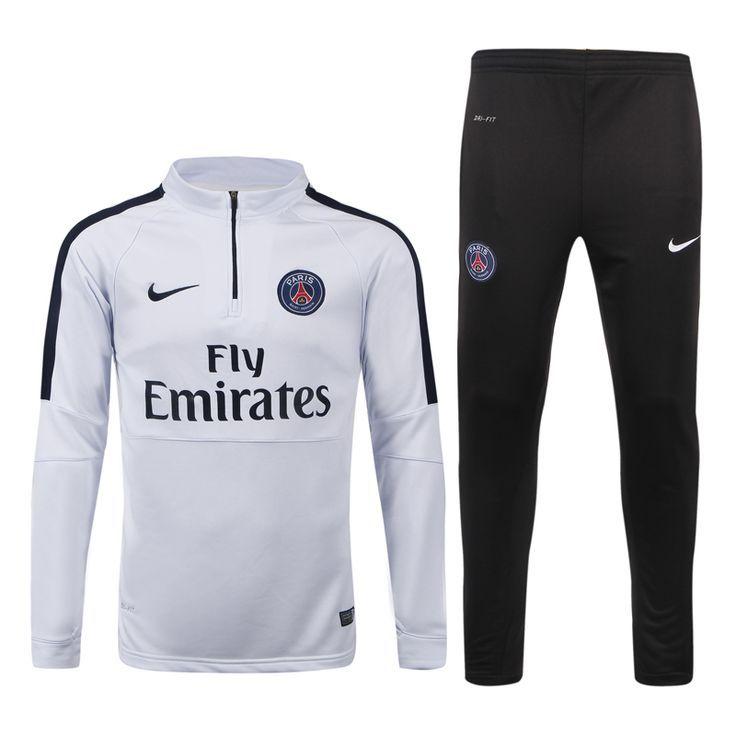 purchase cheap competitive price authorized site nouveau survetement de foot psg blanc 2015 2016 | Football ...