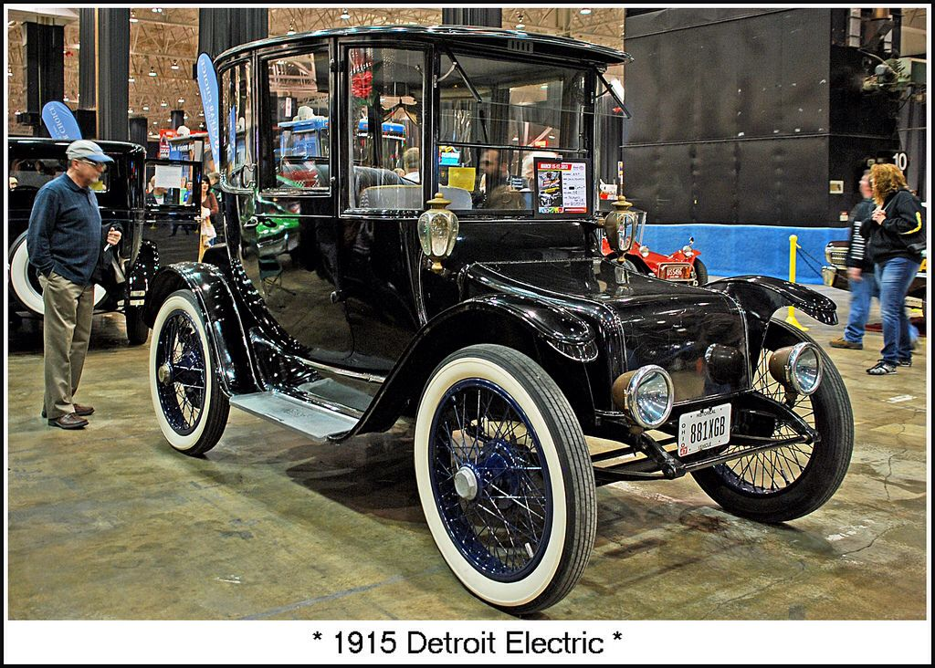 1915 Detroit Electric Electric Cars Small Luxury Cars Motor Car