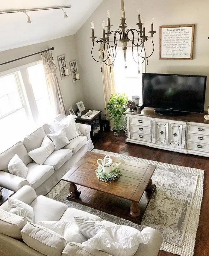 140+ best living room apartment decorating ideas to try 6 ...