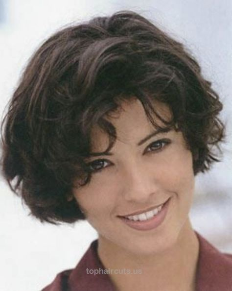 Short Wavy Hairstyles Ese : Thick wavy hairstyles short hairstyles for wavy hair and