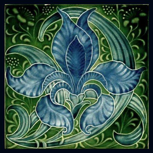 Art Nouveau Tile Art Deco Tiles Art Nouveau Tiles Art