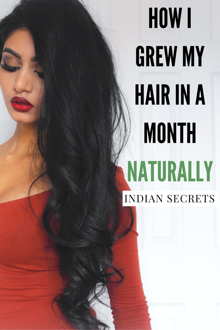 How i grew my hair long thick naturally in a month hair growth how i grew my hair long thick naturally in a month urmus Image collections