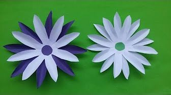How to make paper flowers youtube crafted flowers pinterest how to make paper flowers youtube mightylinksfo