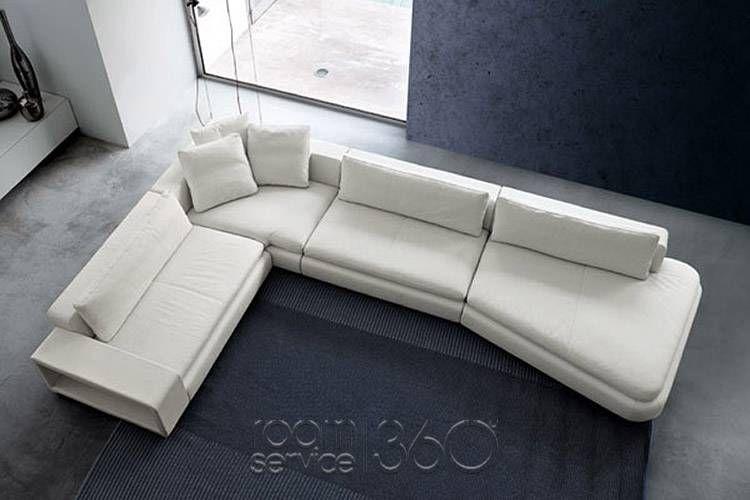 Parnaso Designer Italian Sectional Sofa