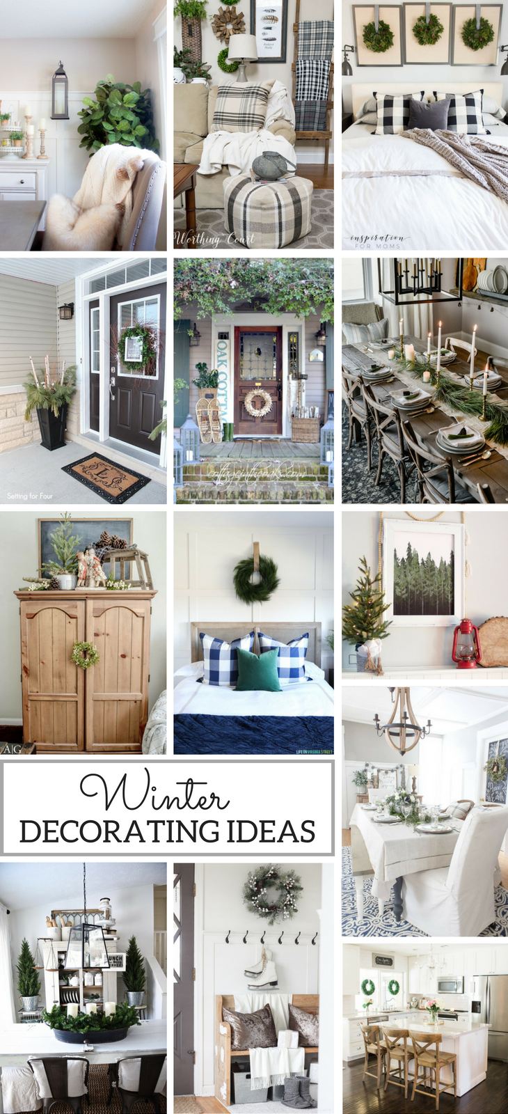 Winter Decorating Ideas for After Christmas | Pinterest | Winter ...