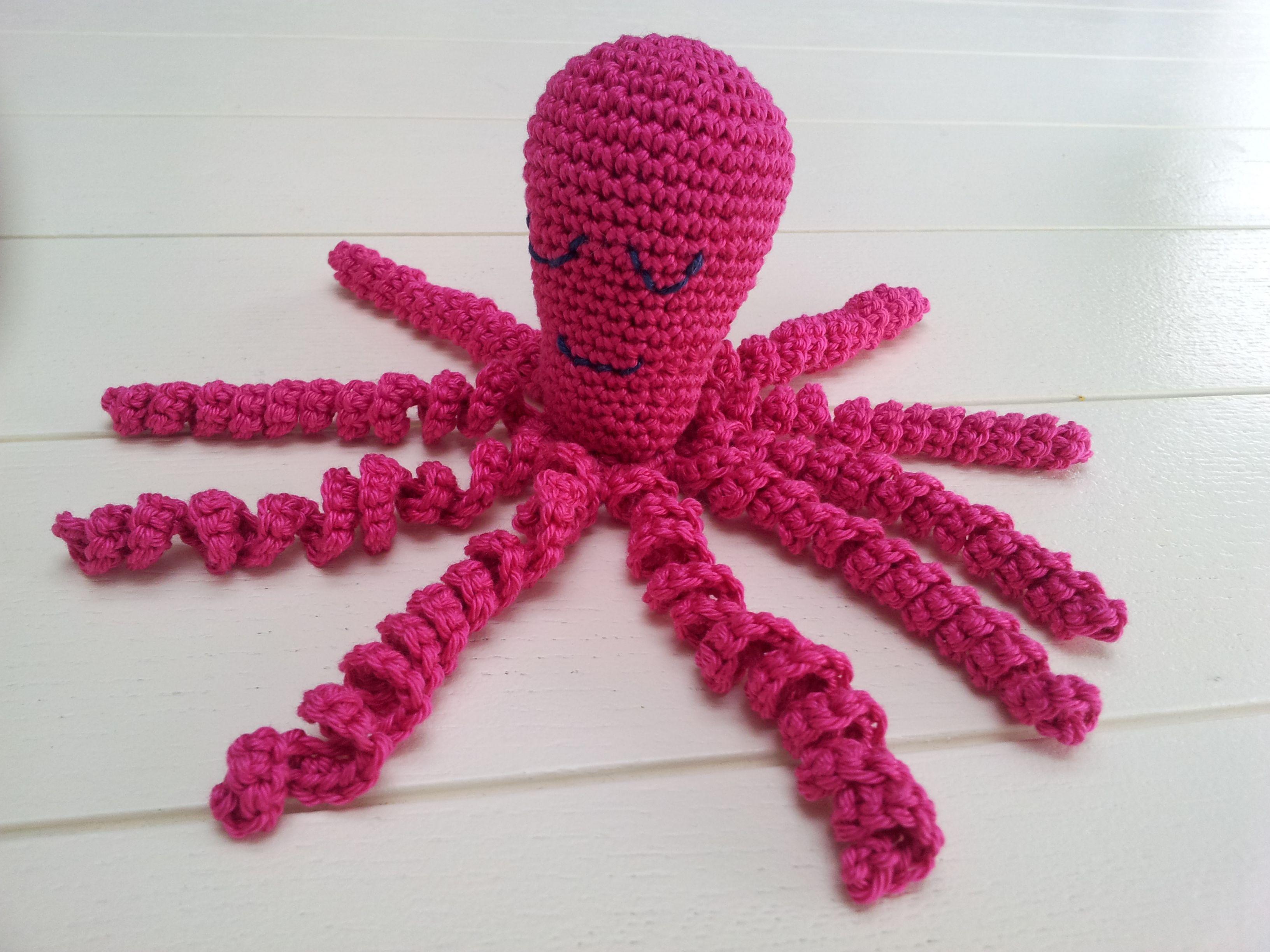 Inktvis Haken Voor Het Goede Doel Haken Pinterest Crochet