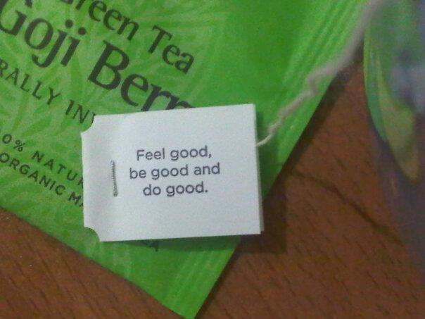 Tea for the soul... yogi
