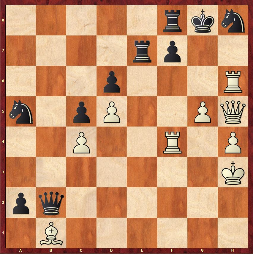 Checkmate in 5. White to move. How should white proceed