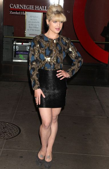 Kelly Osbourne 2010 | Celebrities at Glamour Magazine's 2010 Women Of The Year Awards at ...