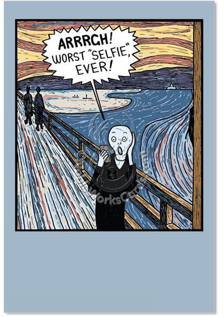 Cover reads arrrrg worst selfie ever inside reads happy worst selfie ever inside reads happy m4hsunfo