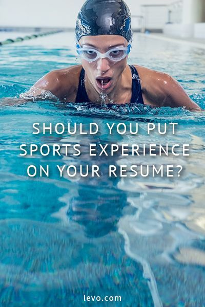 Career infographic  Should You Put Sports Experience on Your - what should i put on resume