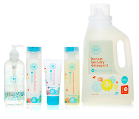 6 free sample of honest company diapers or non toxic eco friendly cleaning