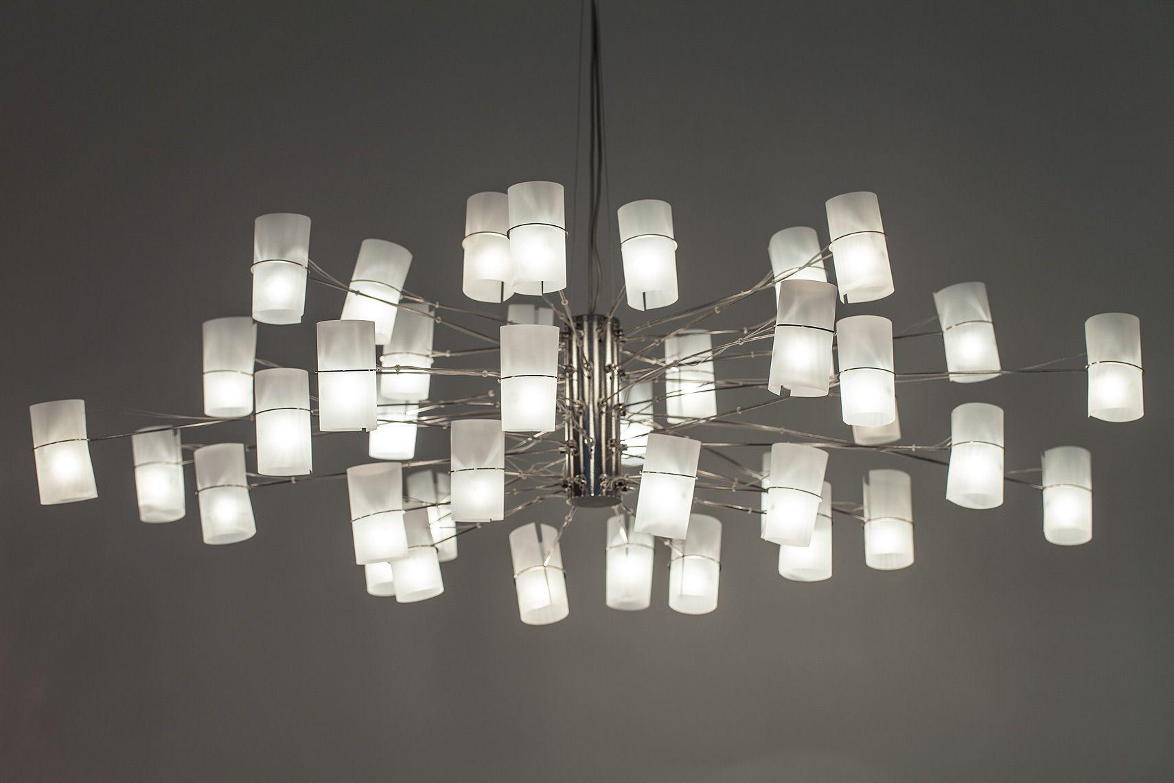 AM Studio LED Yoko Chandelier LED Lighting Pinterest