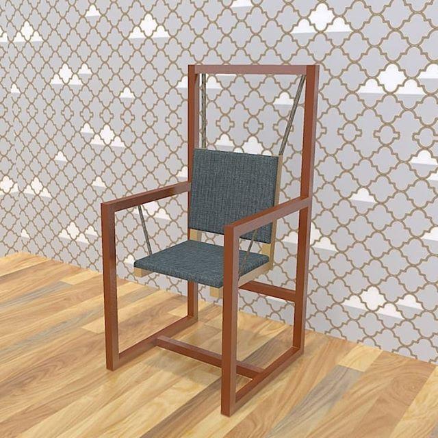 Do you like my work ? The swing #furnituredesign #furniture ...
