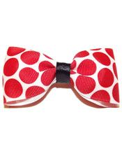 Red Polka Dot Hair Bow | Pinup Hair Accessories | The Atomic Boutique.com