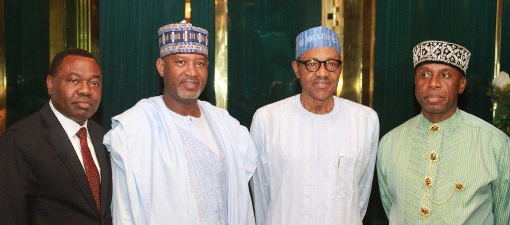Presidente aliu del consejo de la OACI y presidente buhari de nigeria encuentran acuerdo en prioridades de desarrollo de la aviación