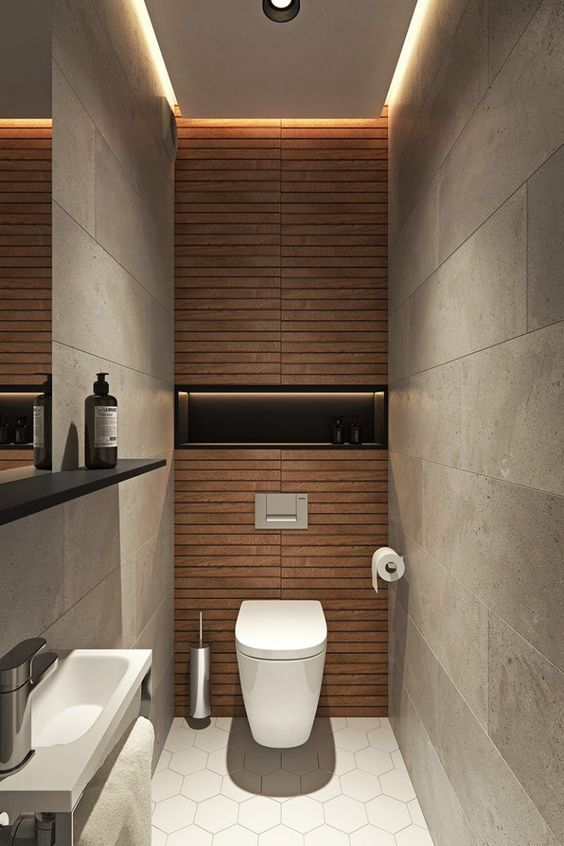 22 Amazing Small Bathroom Remodel Design Ideas #smalltoiletroom