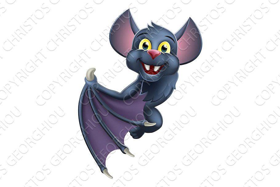 Halloween 2020 Animal Cartoon Halloween Vampire Bat Cartoon in 2020 | Bat animal, Halloween