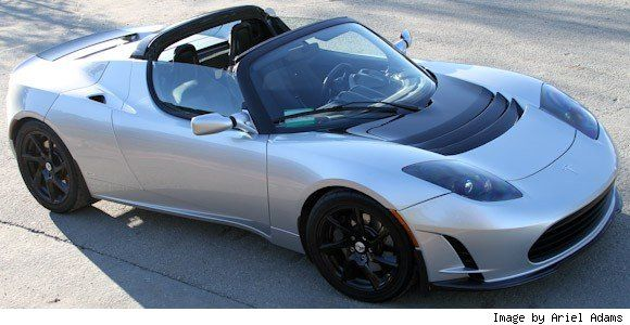 Tesla Roadster Sports Car Model Stuff To Buy Pinterest Cars