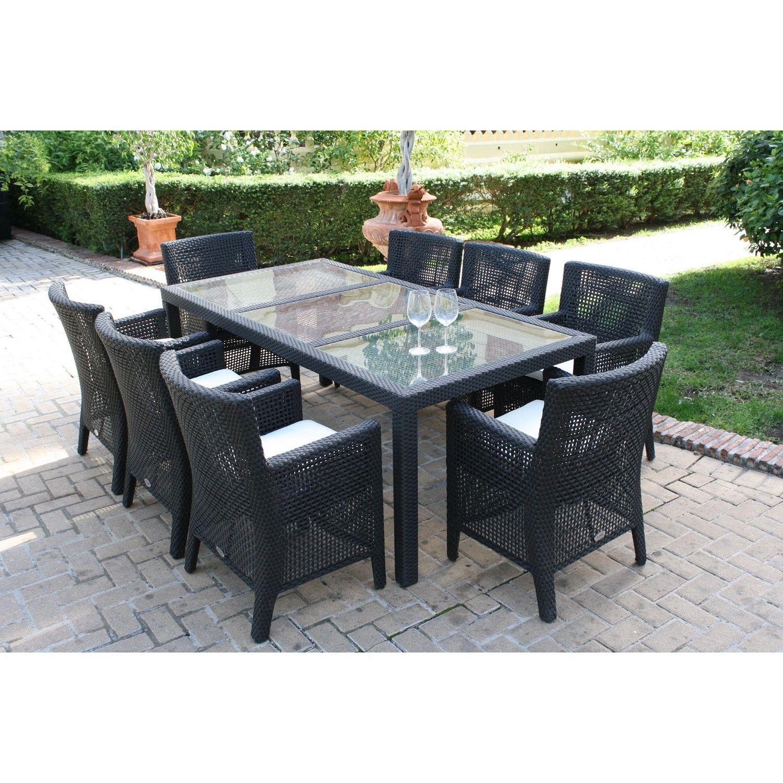 Majestic Garden Mesas y sillas de jardín Summer Palace El comedor de ...
