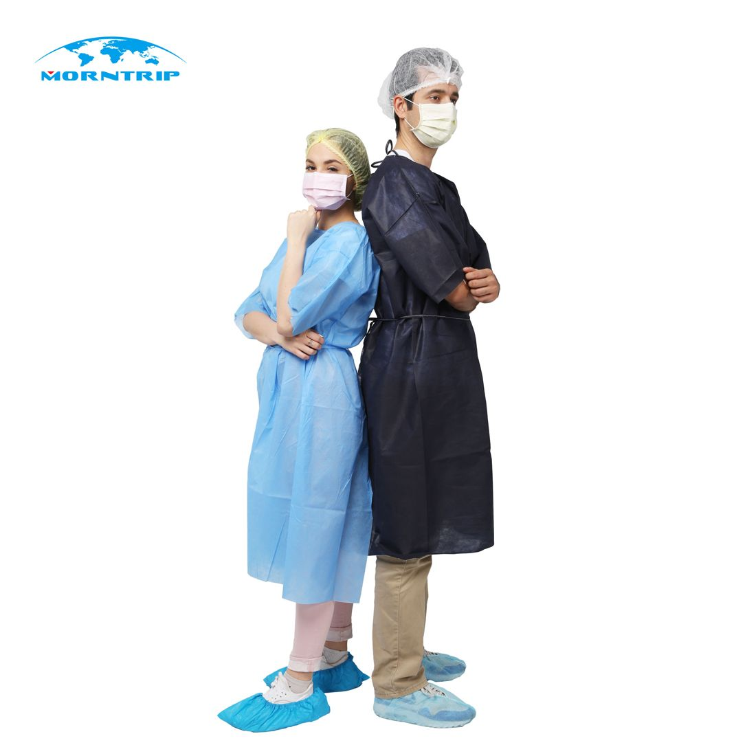 disposable isolation gown, more style and color for you choose ...