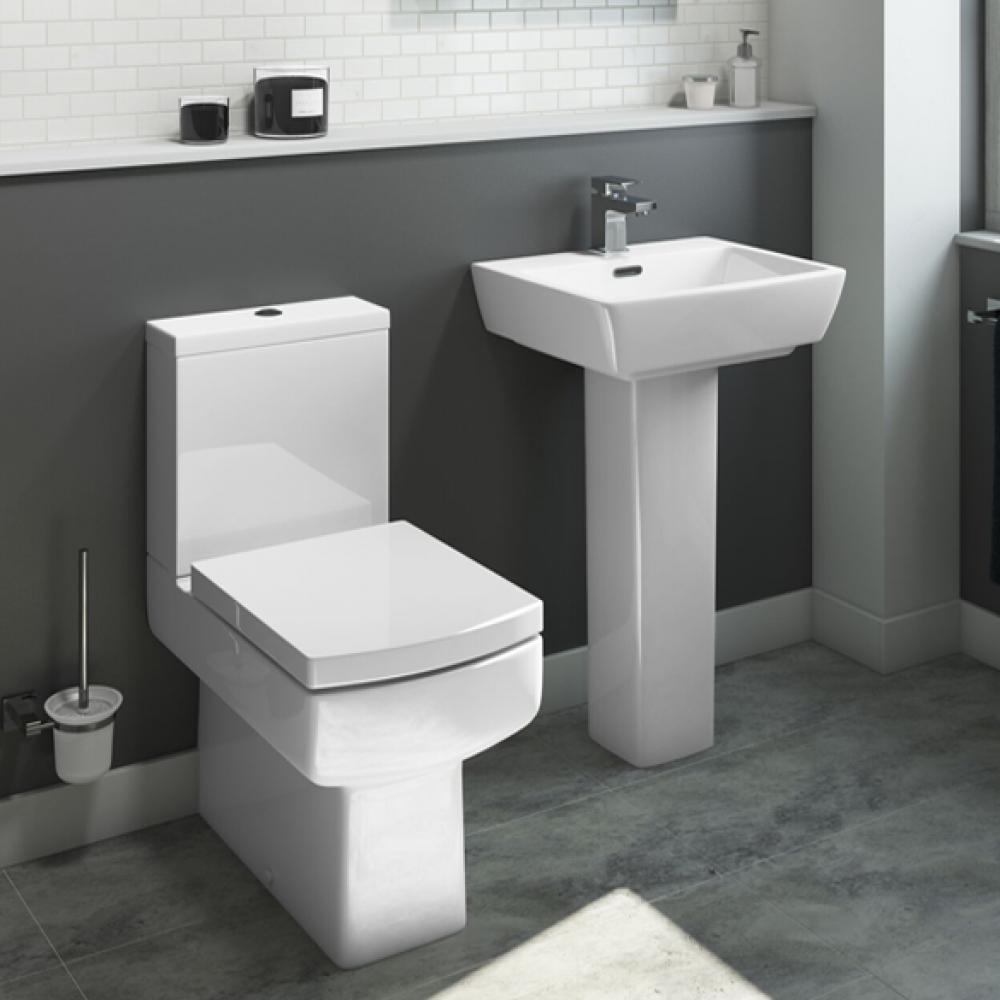 Rubix Toilet Basin Suite Superbly Modern And Featureful The Units Of The Rubix Range Are Modern Bathroom Decor Bathroom Design Small Modern Bathroom Design