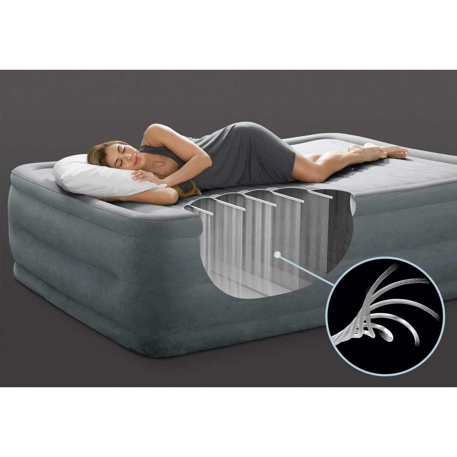 """22"""" Comfort Plush Elevated Airbed Garden & Outdoor Air"""