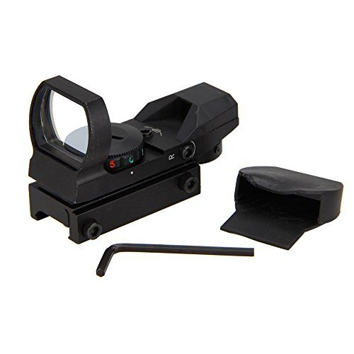 Tactical RIfle Lamp Light Holographic 4 Reticle Red Green Dot Sight Picatinny Weaver Rail -- Visit the image link more details.