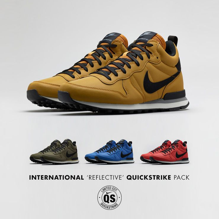 nike internationalist qs nero flag sneakerdiscount