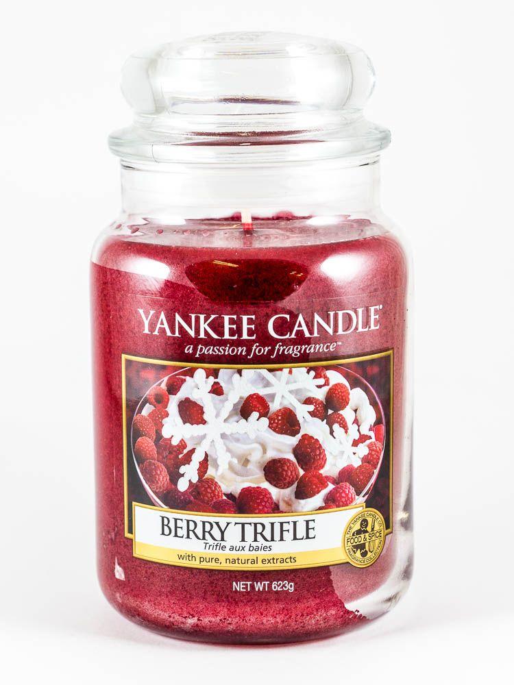 Berry Trifle Yankee Candle Gold Und Silber Kabinett Kerzen