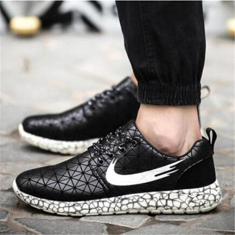 low priced 71e54 cd303 Hot 2015 autumn New sneakers for men sport shoes fashion trainers leather sneakers  men casual shoes