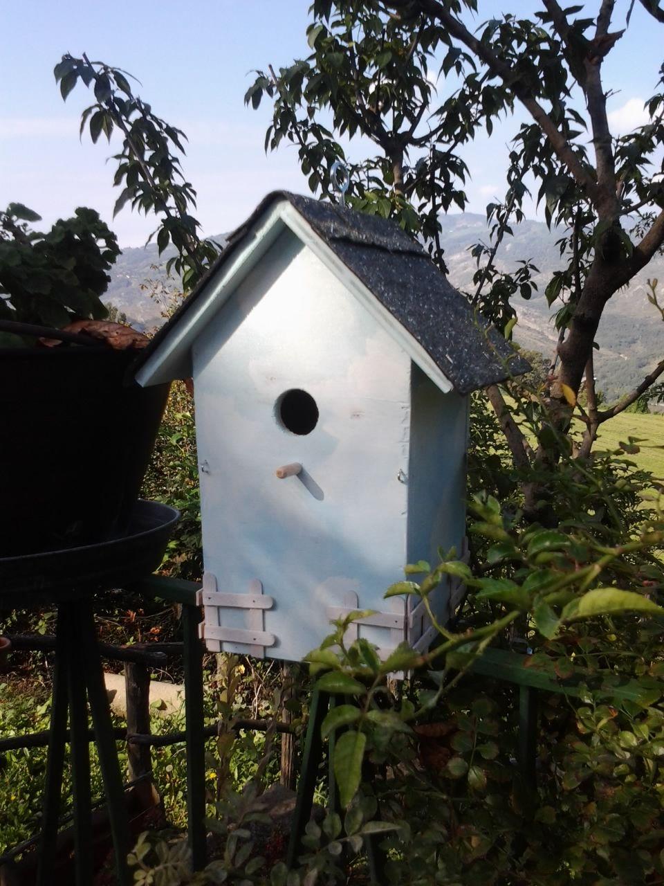 Casetta per uccellini   Casette, Uccellini, Giardino