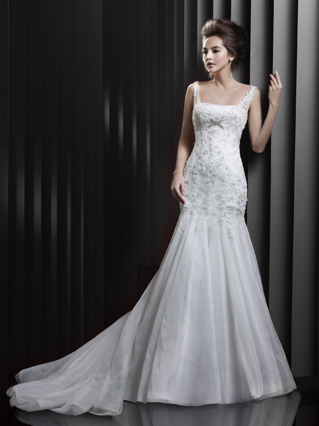 1940s style wedding dresses  BT  Beautiful Collection  Enzoani  Available Colours  Ivory
