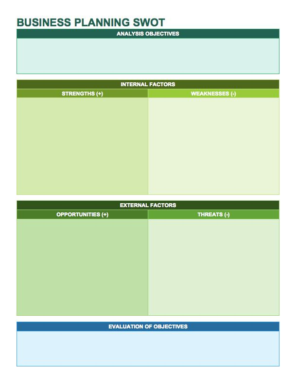 14 Free SWOT Analysis Templates Strong Independent Business - microsoft swot analysis template