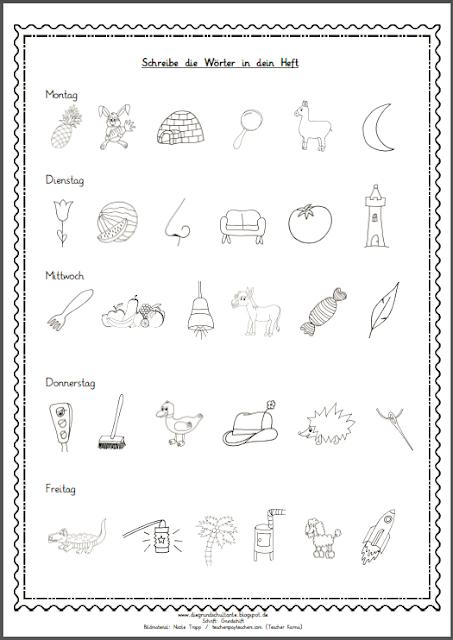 grundschultante wochenplan ausdrucken school elementary schools und teacher. Black Bedroom Furniture Sets. Home Design Ideas