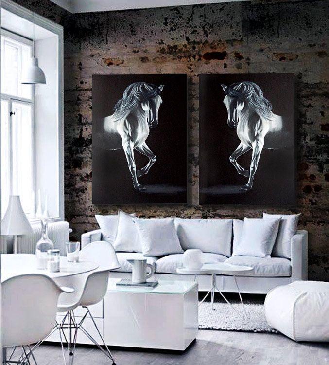 ESTUDIO DELIER | Cuadro Caballo. Horse FarmsHouse InteriorsArchitecture ...
