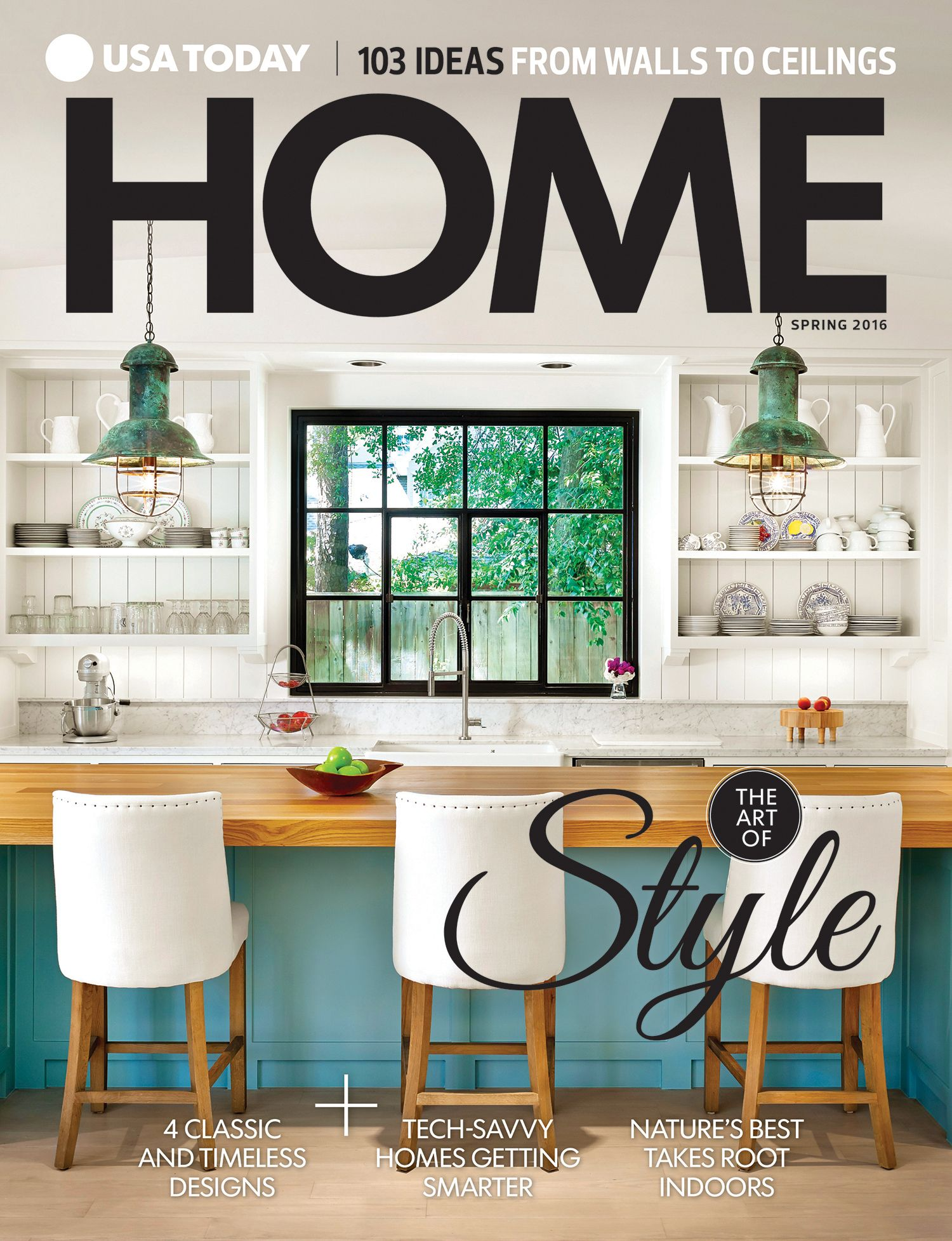 usatodaymags 2016 home magazine cover showcases the home style