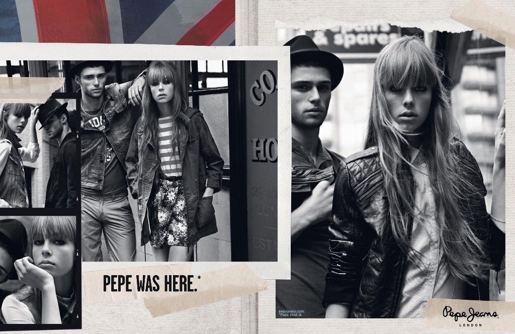 pepe jeans advertisements