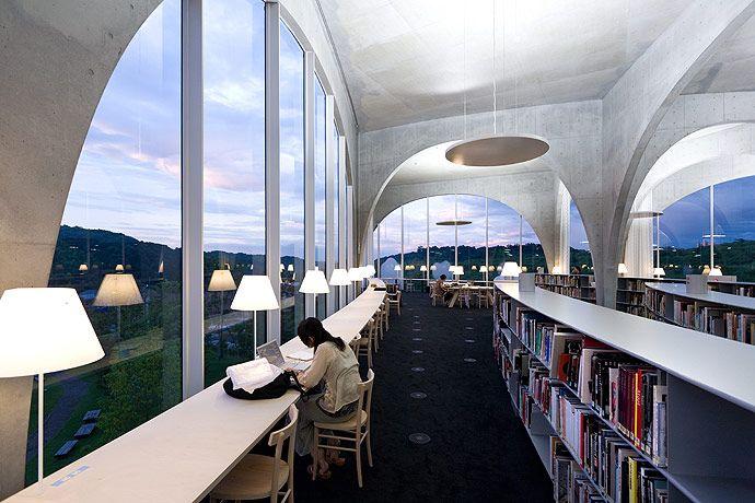Galeria De Biblioteca Da Universidade De Arte De Tama Toyo Ito