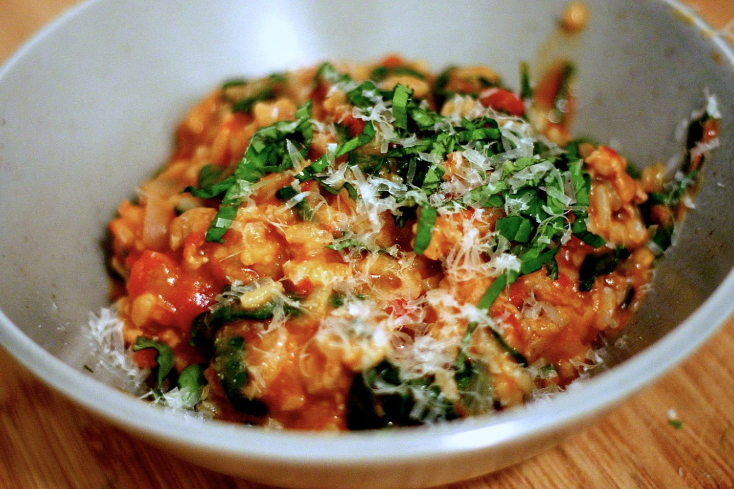 Tomato and sausage risotto cook dinner everyday food and risotto smitten kitchen forumfinder Gallery
