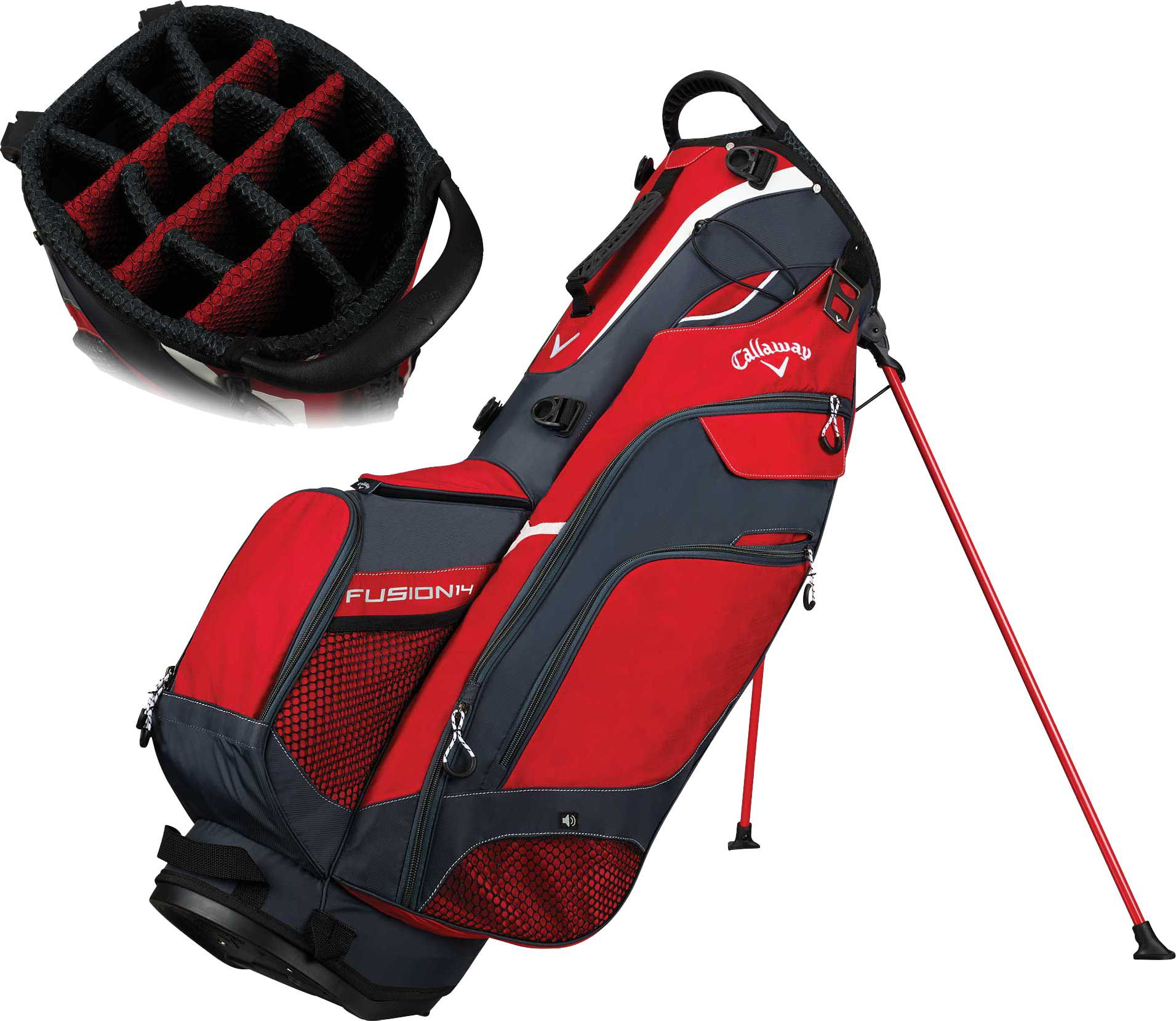 the latest hot sales huge sale Callaway 2018 Fusion 14 Stand Golf Bag | Golf bags, Bags, Mens golf