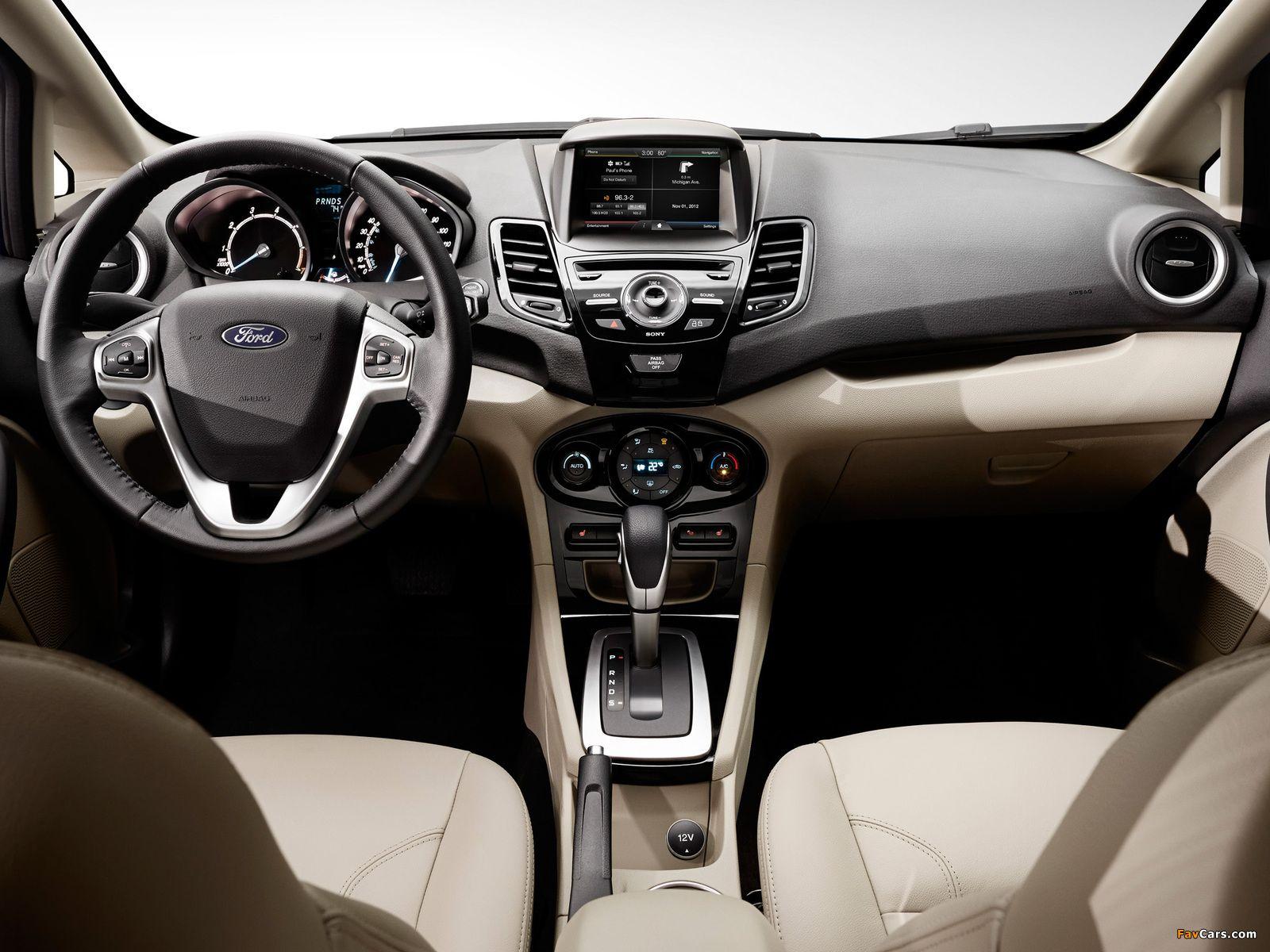 Ford Fiesta Hatchback Us Spec 2013