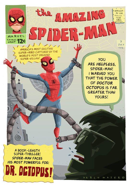 Amazing Spider-Man by Pablo Mayer