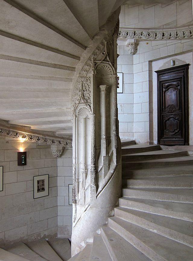 escalier en colimacon histoire