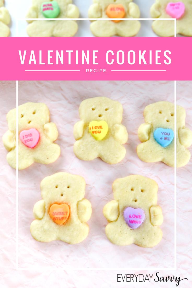 Conversation Heart Bears Recipe Valentines Day Ideas Pinterest
