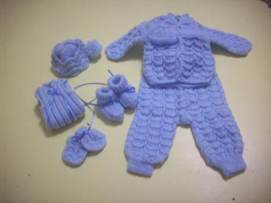 Tejidos a palillo para bebés recién nacidos - Imagui   Patrones ...