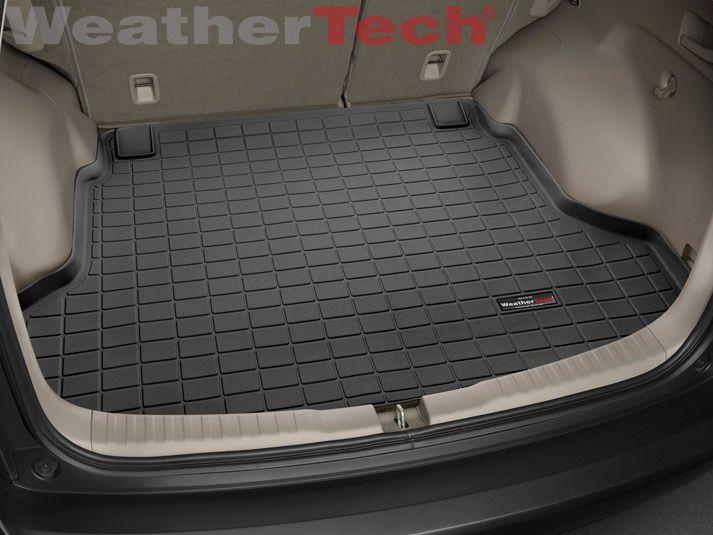 Weathertech Cargo Liner Trunk Mat For Honda Cr V 2012 2016 Black Trunk Liner Honda Cr Cargo Liner