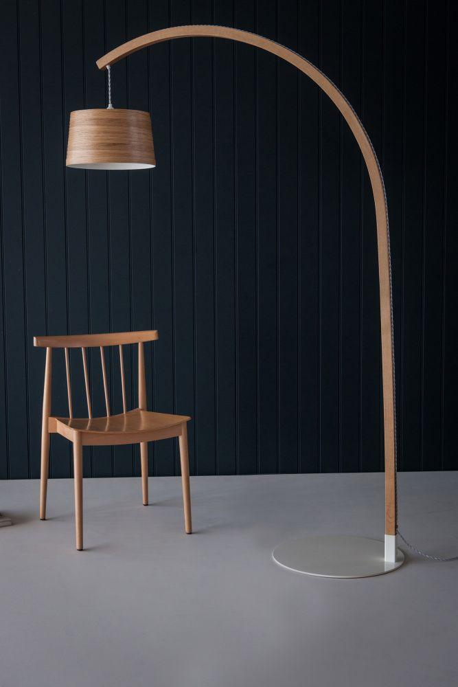 Stem Floor Lamp By Tom Raffield Wooden Floor Lamps Wood Floor Lamp Floor Lamp Design