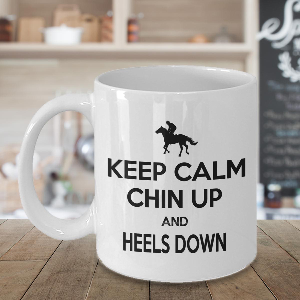 Horse Mug, Horse Riding Funny Horse Lover White Ceramic